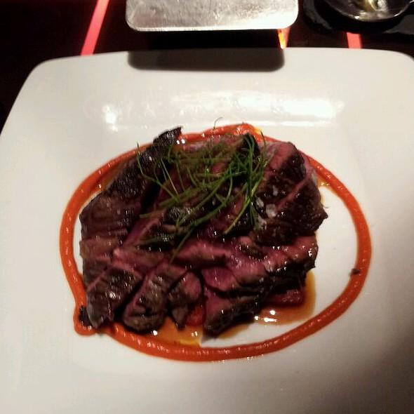 angus beef hangar steak @ The Bazaar by Jose Andres