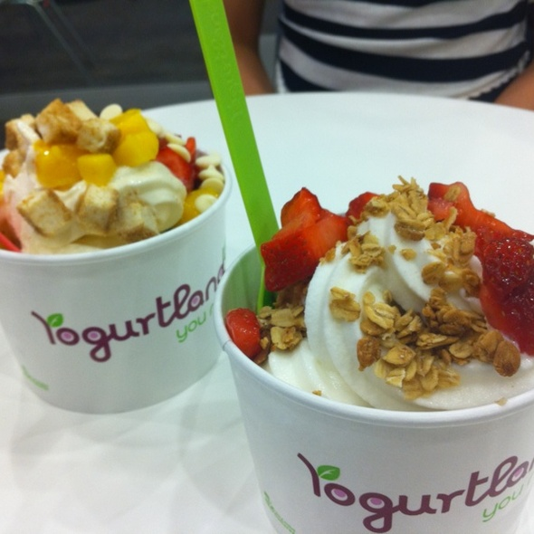Yogurtland Menu - Los Angeles, CA - Foodspotting