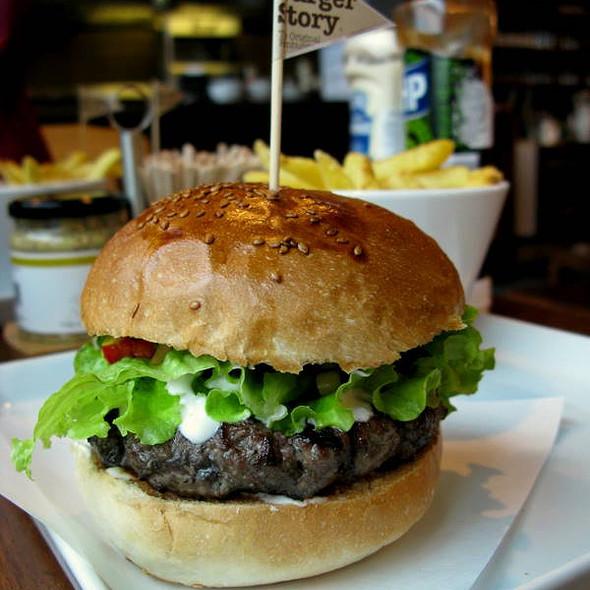 Cajun Burger @ Burger Story
