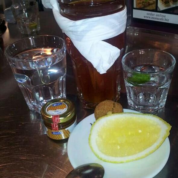Red Espresso With Ginger, Lemon & Honey