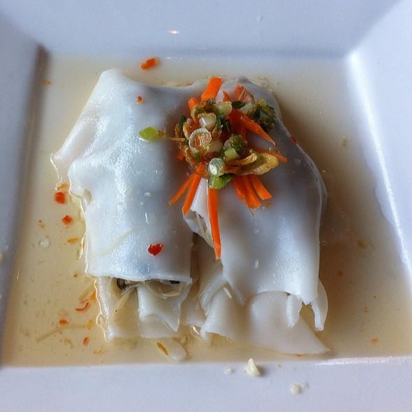 Shitake Mushroom In Rice Noodles @ Red Monk Bistro