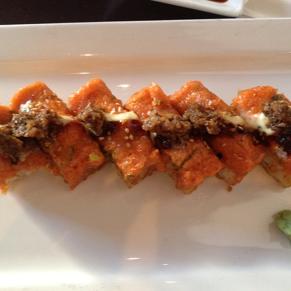 Crispy Rice with Spicy Tuna @ Momoya
