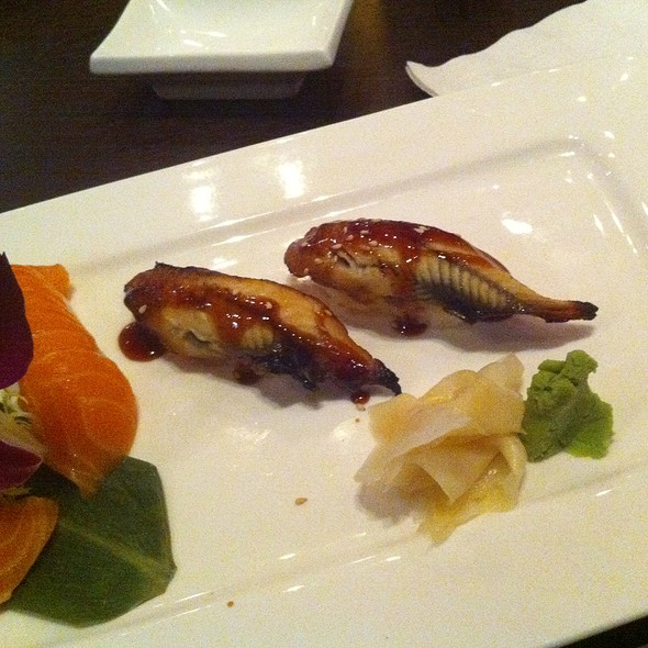 Unagi Nigiri - Osaka Japanese Sushi and Steakhouse, Brookline, MA