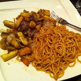 Noodles & Vegetables Hibachi