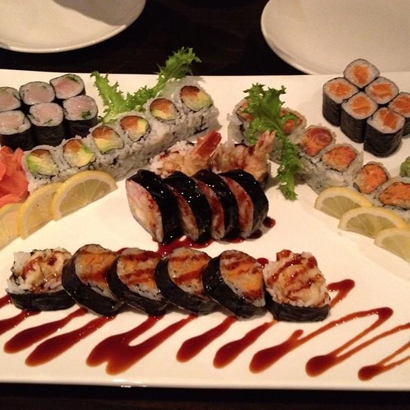 Myriad Of Sushi Rolls @ Sakura