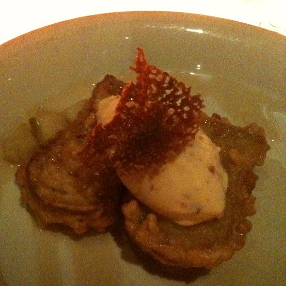 6Am Special - Bacon Maple Ice Cream - Lola - A Michael Symon Restaurant, Cleveland, OH