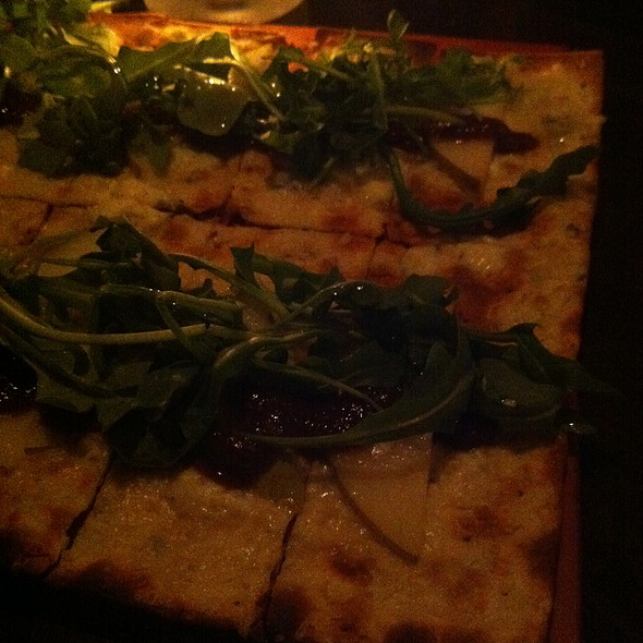 Pear & Bleu Flatbread - Harvest Seasonal Grill & Wine Bar – Glen Mills, Glen Mills, PA