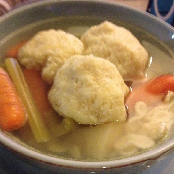 matzah ball soup @ Home