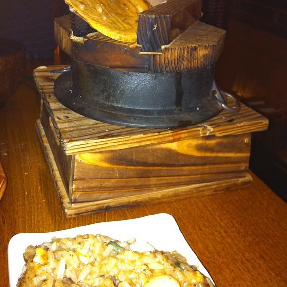 Truffled Rice Hot Pot @ Roka Akor Chicago