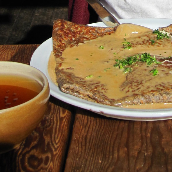 Buckwheat Crepe with French Cider @ Ti Couz Creperie