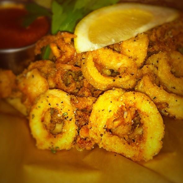 Fried Panko Calamari @ Bambino's