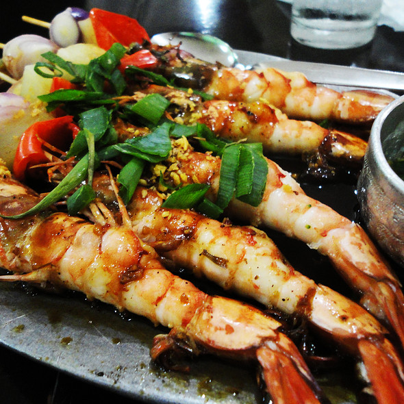 Grilled Prawns @ Muang Thai Restaurant