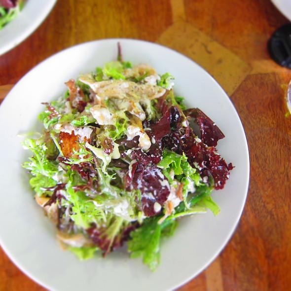 Oyster Mushroom, Ricotta and Chat Potato Salad @ Cafe Sopra @ Fratelli Fresh