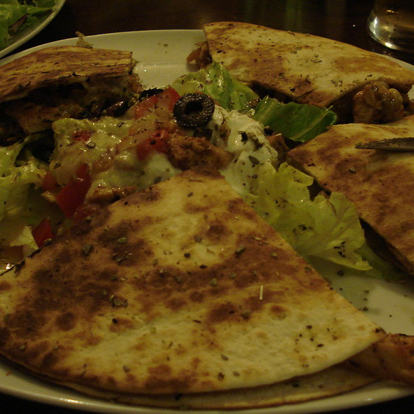 Quesadilla @ Black Cat Bistro