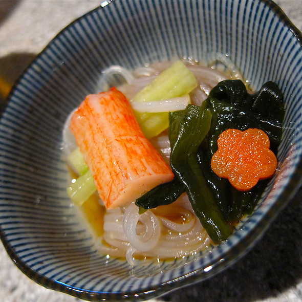 Sunamono Salad @ Hana Japanese Restaurant