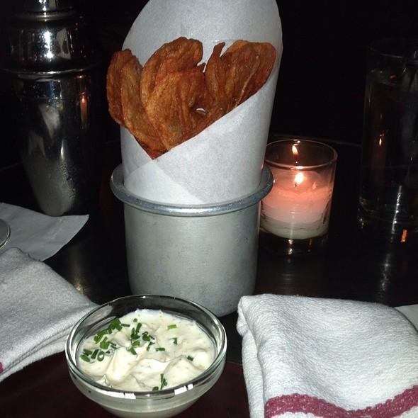 Homemade Potato Chips - Pravda, New York, NY