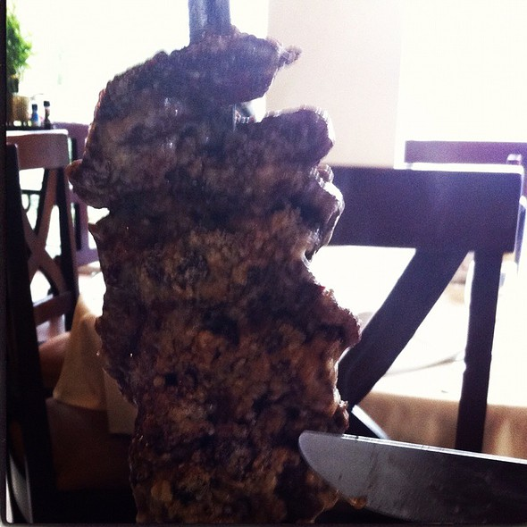 Falda De Res Con Queso Parmesano @ Os segredos da carne