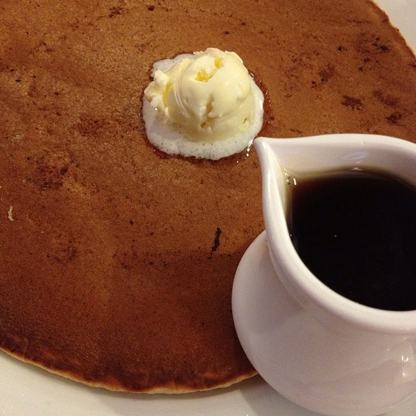 Honey Whole Wheat Pancake @ Eggtc.