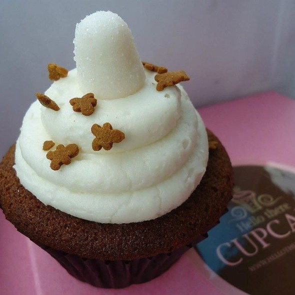 Gingerbread Cupcake @ Hello There Cupcake