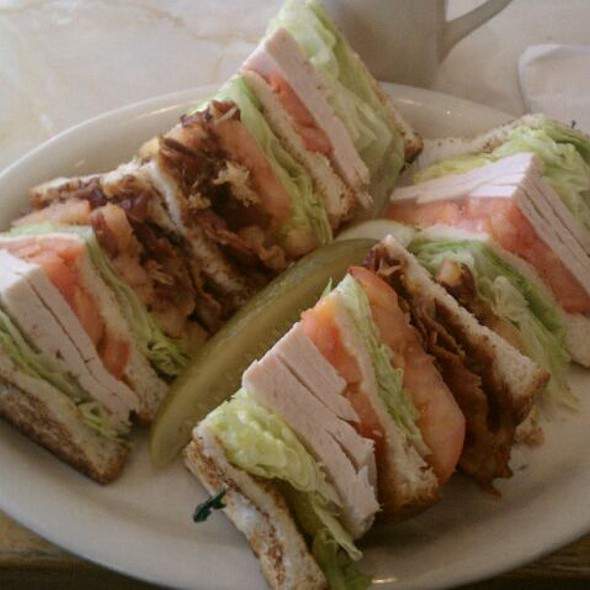 Turkey Club Sandwich @ Capitol Cafe