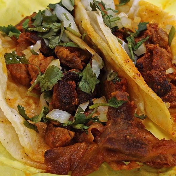 Al Pastor Tacos @ La Paloma