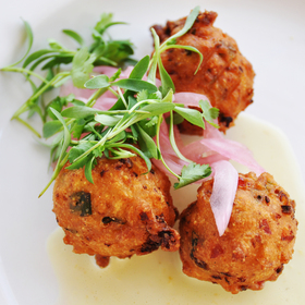 Conch Fritters - Red Fish Grill