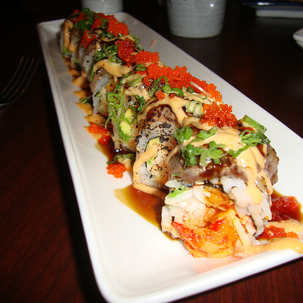Cajun Cowboy Sushi @ Shangri-La Restaurant