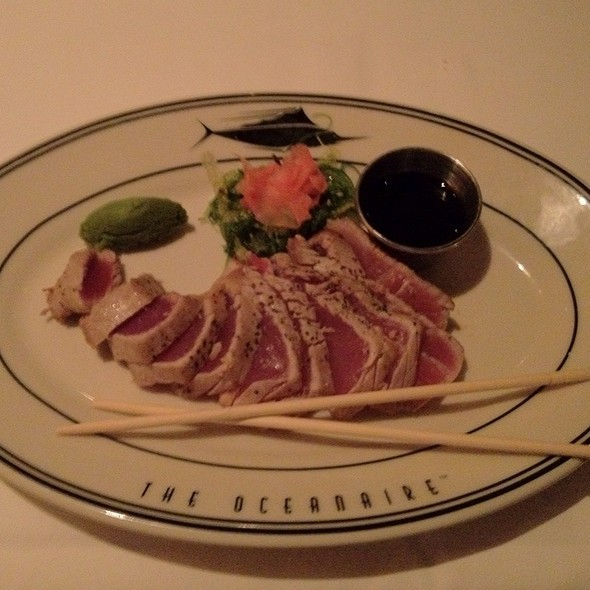 Seared Big Eye Tuna - Oceanaire Seafood Room - Baltimore, Baltimore, MD