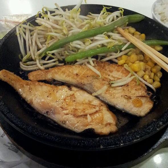 Teriyaki Pepper Salmon @ Pepper Lunch