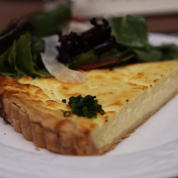 goat cheese tart @ Brasserie By Niche