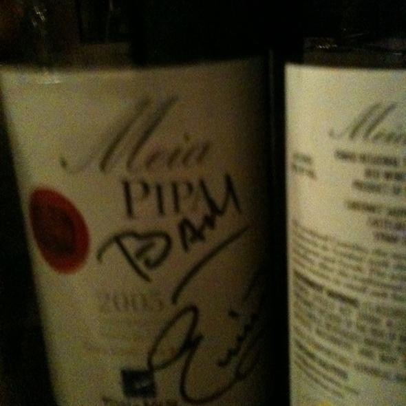Wine @ Texas De Brazil