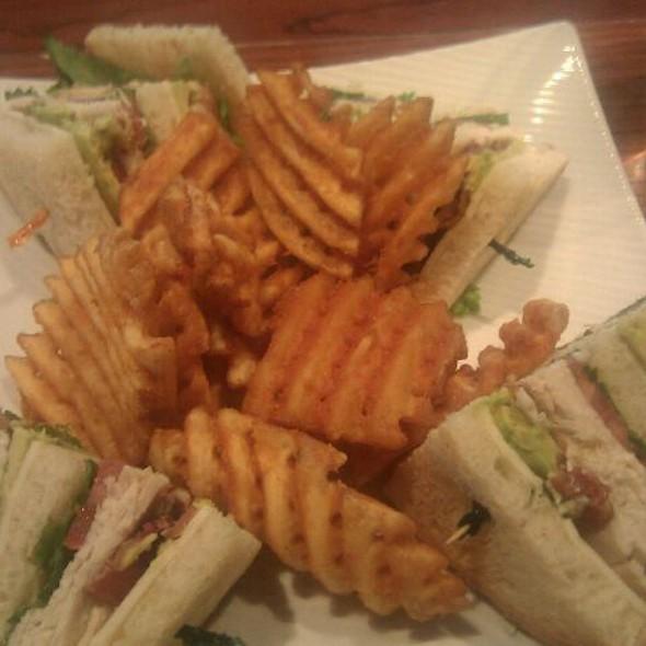 Turkey Avocado Club Sandwich @ Harry's Bar & Grill