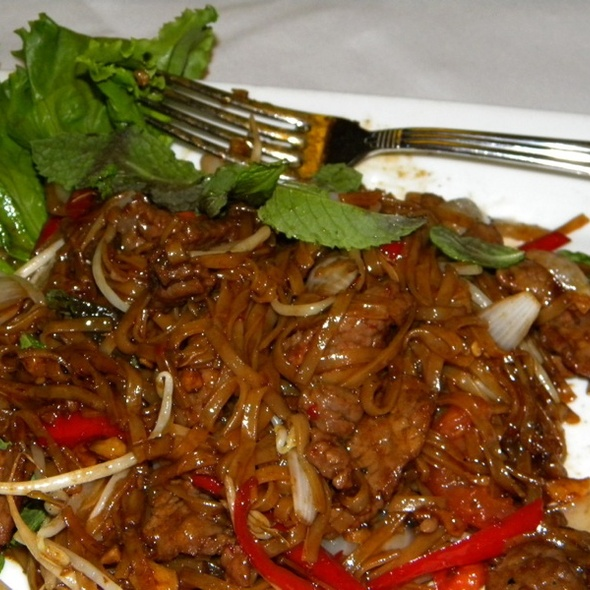 Spicy Mint Noodles - Bangkok Thai on Main, Park City, UT