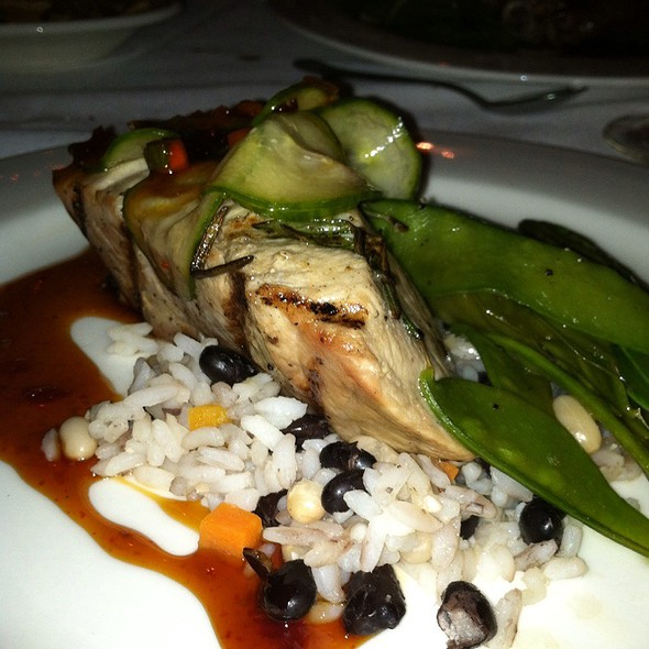 Grilled Tuna - Hamilton's Grill Room, Lambertville, NJ