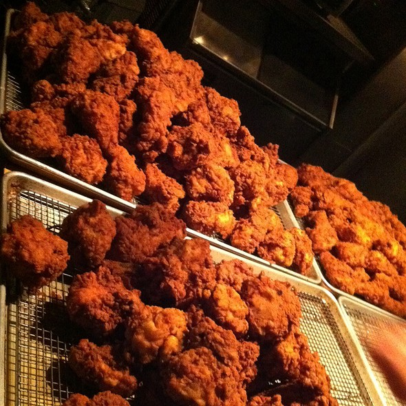 fried chicken @ Spring Hill Restaurant & Bar