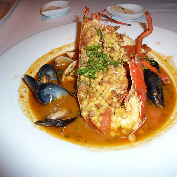 Chef Maloney's Fish Soup (w/ lobster, shrimp, John Dory, mussels, clams, tomato-saffron) - Aquaknox, Las Vegas, NV