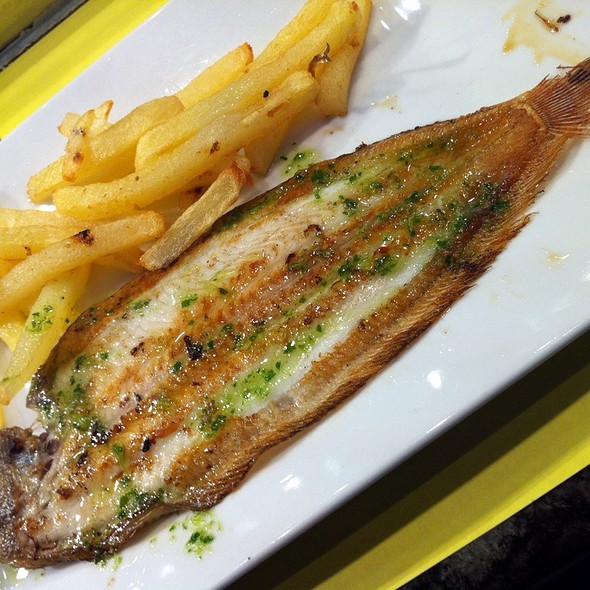 Sole Fish And Chips