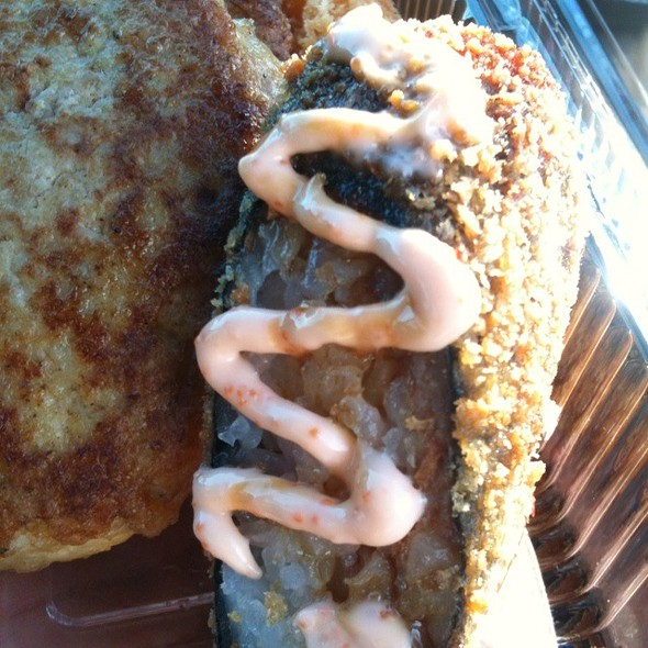 Tempura Ahi Roll @ Tanioka's Seafoods and Catering