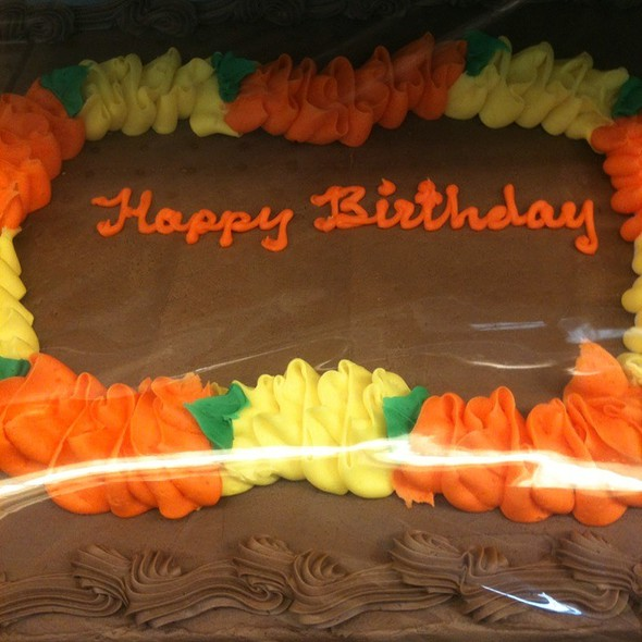 Chocolate Lei Cake @ Costco Kapolei