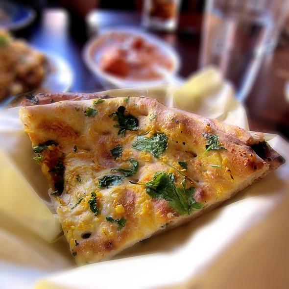 Garlic Naan Bread - Urban Curry, San Francisco, CA