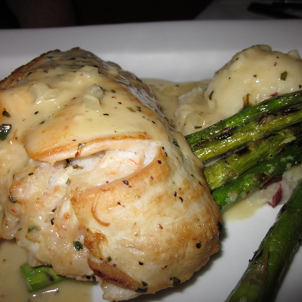 Stuffed Chicken Divan with a Sherry Dijon Sauce - Melodia Grill, Souderton, PA