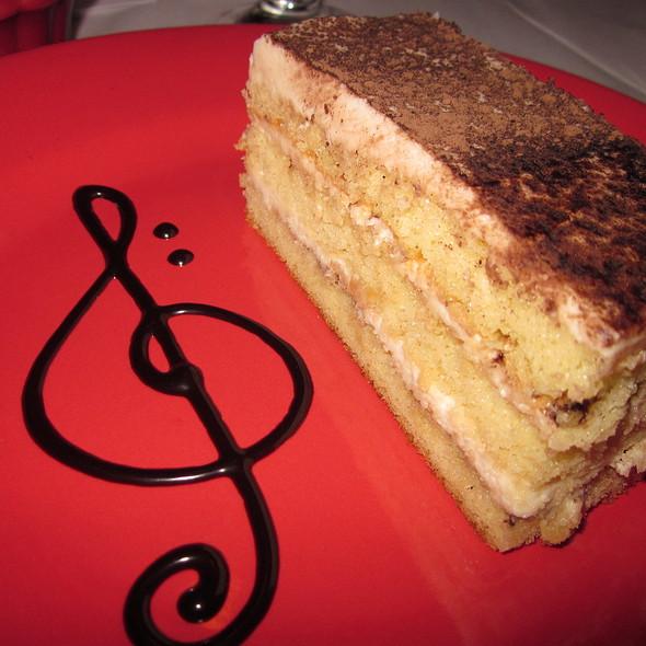 Melodia Tiramisu Cake - Melodia Grill, Souderton, PA