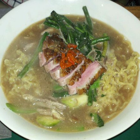 Hand Pulled Noodles With Roasted Duck Breast