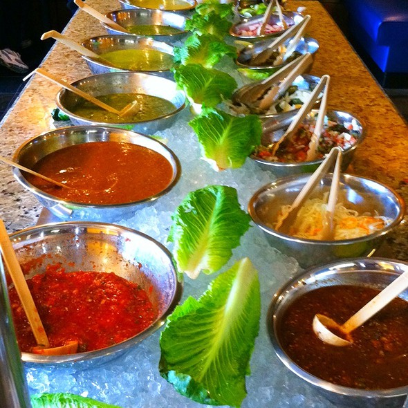 Salsa Bar @ Mr. Taco