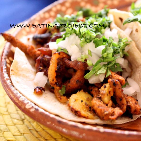 Tacos al Pastor @ Amaranto