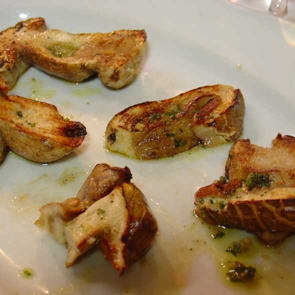 Grilled Porcini Mushrooms