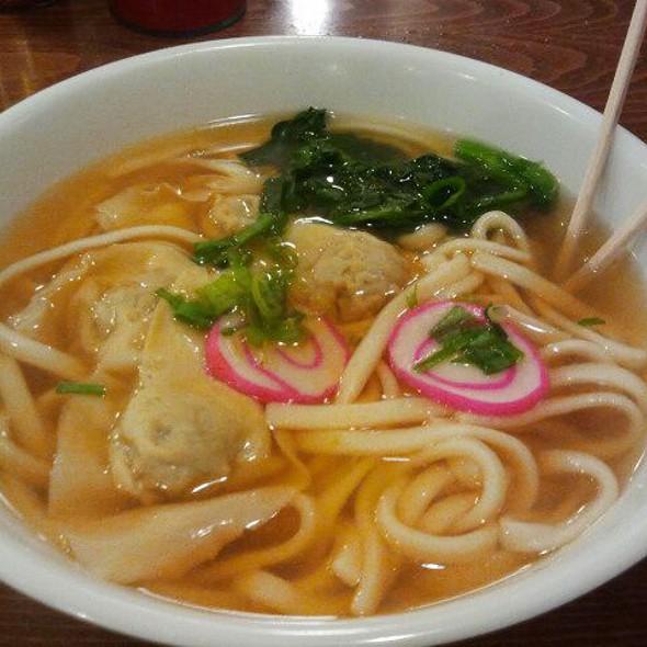 Tanaka Special Udon @ Tanaka Saimin