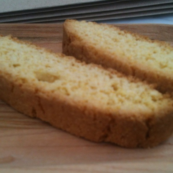 Cornmeal Orange Biscotti @ Barnie's Coffee Kitchen