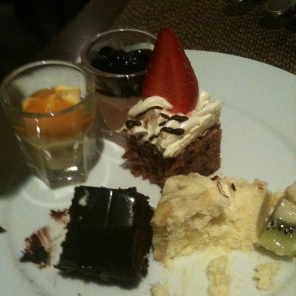 Dessert @ Shangri-la's Tanjung Aru Resort