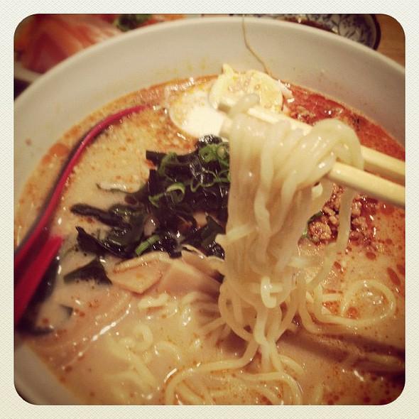 lunch :: tan tan ramen #sydneycommunity porn  #ramen #nom #lunch @ Condor Japanese Noodle Restaurant